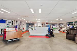 banque accueil agence matériel médical vente et location bastide nice